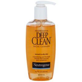 Neutrogena Deep Clean čisticí gel na obličej  200 ml