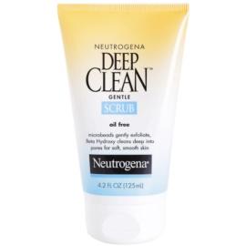 Neutrogena Deep Clean peeling fata  125 ml
