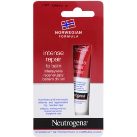Neutrogena Norwegian Formula® Intense Repair balsam regenerujący do ust  15 ml