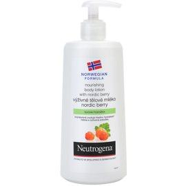 Neutrogena NordicBerry tápláló testápoló krém száraz bőrre  250 ml
