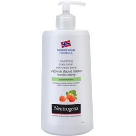 Neutrogena Norwegian Formula® Nordic Berry vyživující tělové mléko pro suchou pokožku  400 ml