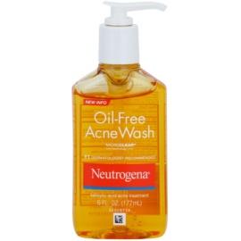 Neutrogena Oil-Free Acne Wash čisticí gel proti pupínkům  177 ml