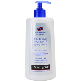 Neutrogena Sensitive Feuchtigkeitsspendende Bodymilk mit Tiefenwirkung für trockene und empfindliche Haut  400 ml