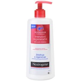Neutrogena Sensitive intenzívne regeneračné telové mlieko pre suchú a citlivú pokožku  250 ml