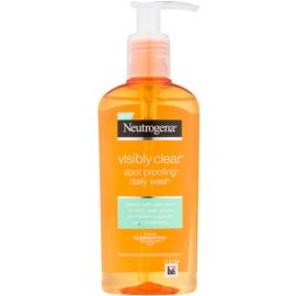 Neutrogena Visibly Clear Spot Proofing gel facial limpiador  200 ml
