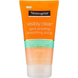 Neutrogena Visibly Clear Spot Proofing wygładzający peeling do twarzy  150 ml