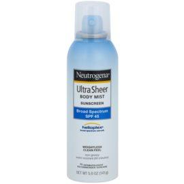 Neutrogena Ultra Sheer fényvédő spray SPF 45  141 g