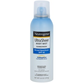 Neutrogena Ultra Sheer protector solar en spray SPF 45   141 g