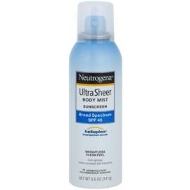 Neutrogena Ultra Sheer schützendes Spray gegen UV-Strahlung SPF 45  141 g