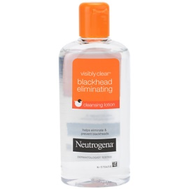 Neutrogena Visibly Clear Blackhead Eliminating bőrtisztító víz a fekete pontok ellen  200 ml