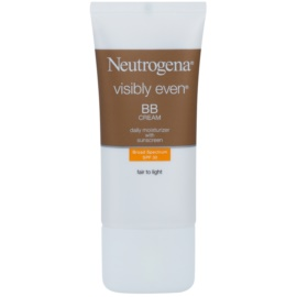 Neutrogena Visibly Even crema BB hidratante SPF 30 Fair to Light 50 ml