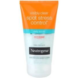 Neutrogena Visibly Clear Spot Stress Control peeling pro každodenní použití  150 ml