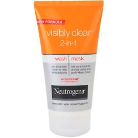 Neutrogena Visibly Clear 2-in-1 čisticí emulze a maska 2v1  150 ml