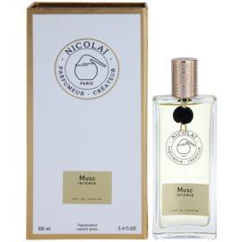 Nicolai Musc Intense Eau de Parfum para mulheres 100 ml