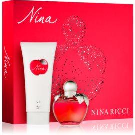 Nina Ricci Nina lote de regalo VIII.  eau de toilette 50 ml + leche corporal 100 ml