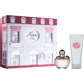 Nina Ricci L´Eau lote de regalo II.  eau de toilette 50 ml + leche corporal 100 ml