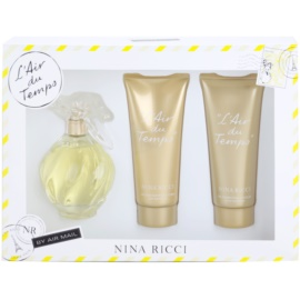 Nina Ricci L'Air du Temps darilni set I.  toaletna voda 100 ml + losjon za telo 100 ml + gel za prhanje 100 ml