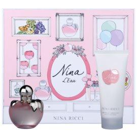 Nina Ricci L´Eau darčeková sada II.  toaletná voda 50 ml + telové mlieko 100 ml