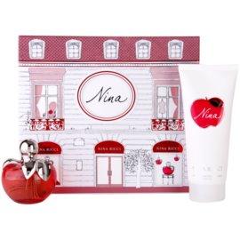 Nina Ricci Nina Geschenkset IV. Eau de Toilette 80 ml + Körperlotion 200 ml