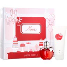 Nina Ricci Nina dárková sada VIII. toaletní voda 50 ml + tělové mléko 100 ml