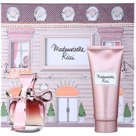 Nina Ricci Mademoiselle Ricci lote de regalo II.  eau de parfum 50 ml + leche corporal 100 ml