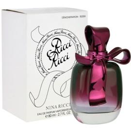 Nina Ricci Ricci Ricci Parfumovaná voda tester pre ženy 80 ml