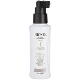 Nioxin System 1 tratamento de pele para cabelo fino e escasso  100 ml