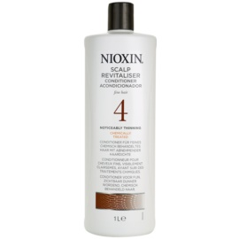 Nioxin System 4 лек балсам за силно оредяване на фина химически третирана коса  1000 мл.