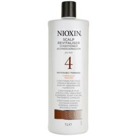 Nioxin System 4 kondicionáló a jelentősen ritkuló, gyenge és kémiailag kezelt hajra  1000 ml
