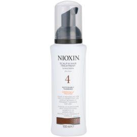 Nioxin System 4 kuracja skóry głowy przy zawansowanym wypadaniu delikatnych włosów po chemicznej pielęgnacji  100 ml