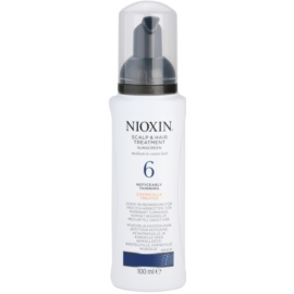Nioxin System 6 tratamento de pele para rarefação marcante de cabelo normal a forte, natural e quimicamente tratado  100 ml
