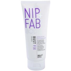 NIP+FAB Body Bust Fix sérum pro objem, zpevnění a vyhlazení poprsí  100 ml
