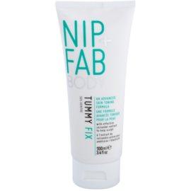 NIP+FAB Body Tummy Fix zeštíhlující a zpevňující sérum na břicho a boky  100 ml
