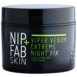 NIP+FAB Skin Viper Venom extra silný vyhlazující noční krém proti vráskám s hadím jedem a kyselinou hyaluronovou  50 ml