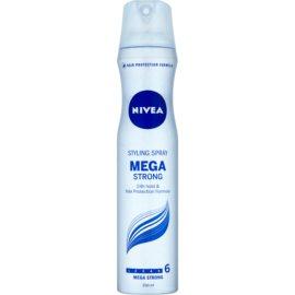 Nivea Mega Strong laca de cabelo com fixação extra forte  250 ml