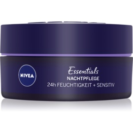 Nivea Essentials kojący krem na noc dla cery wrażliwej  50 ml