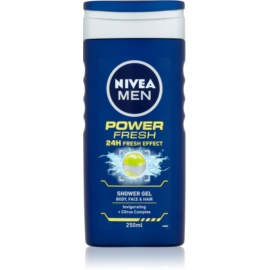 Nivea Power Refresh sprchový gel  250 ml