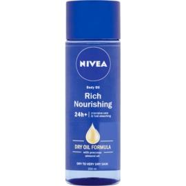 Nivea Rich Nourishing hranilno olje za telo  200 ml