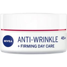 Nivea Anti-Wrinkle Firming crema de día reafirmante antiarrugas 45+  50 ml
