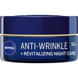 Nivea Anti-Wrinkle Revitalizing erneuernde Nachtcreme gegen Falten 55+  50 ml