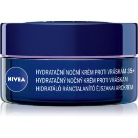 Nivea Anti-Wrinkle Moisture hydratační noční krém proti vráskám 35+  50 ml