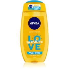 Nivea Love Sunshine osvěžující sprchový gel s aloe vera  250 ml