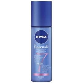 Nivea Hairmilk 7 Plus regenerierender spülfreier Conditioner für feines Haar  200 ml