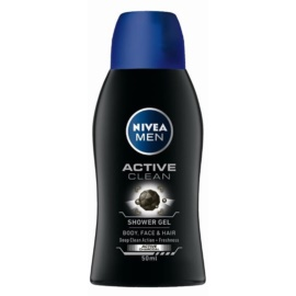 Nivea Men Active Clean gel de duche para homens  50 ml