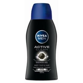 Nivea Men Active Clean gel de dus pentru barbati  50 ml