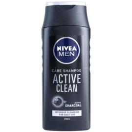 Nivea Men Active Clean šampon s aktivními složkami uhlí  250 ml