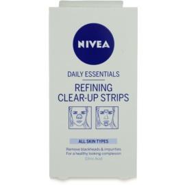 Nivea Aqua Effect tiras limpiadoras para rostro  6 ud