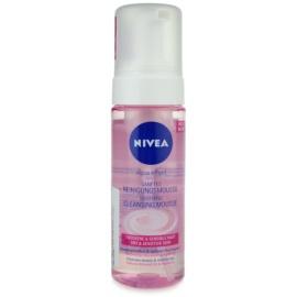 Nivea Aqua Effect espuma limpiadora para pieles sensibles y secas  150 ml