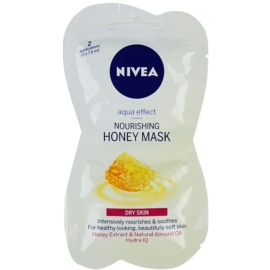 Nivea Aqua Effect mascarilla nutritiva con miel  2x7,5 ml