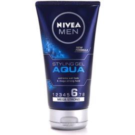 Nivea Men Aqua Hair Styling Wet Effect Gel Extra Strong Hold  150 ml